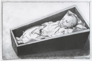 catharina ter borch in her coffin